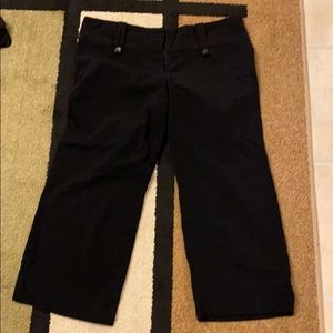 3/$20🎉Charlotte Russe cropped black pants 5